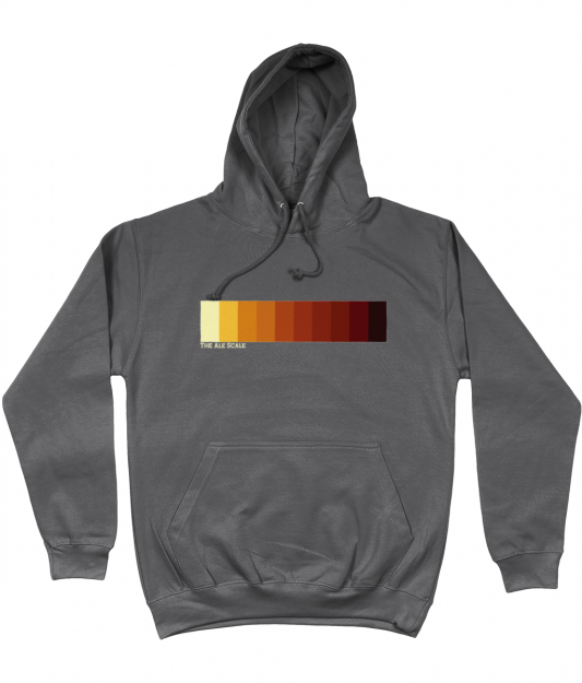 Ale Scale Hoodie - Charcoal Grey
