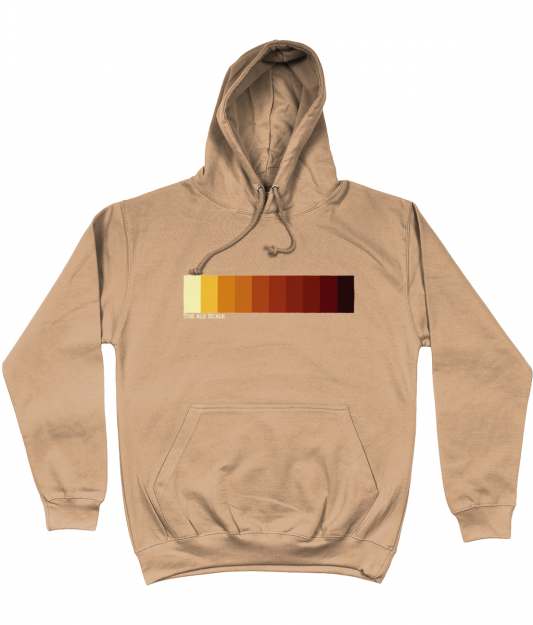 Ale Scale Hoodie - Nude