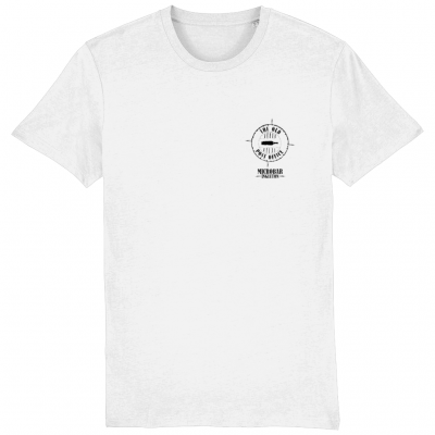 OPO White T Small print